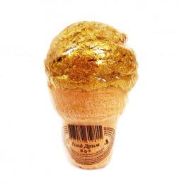Бурлящий шар-мороженое ГОЛД ДРИМ, арома-средство для ванн, 180 гр