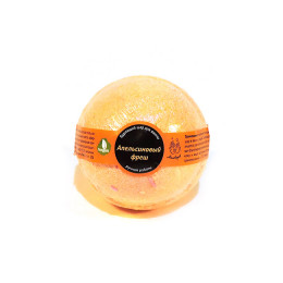 Бурлящий ШАР,  АПЕЛЬСИНОВЫЙ ФРЕШ, арома-средство для ванн, 150 гр.±5%