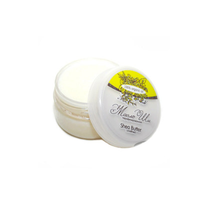 Масло ШИ, Shea Butter Unrefined, баттер, нерафинированное, 80 гр