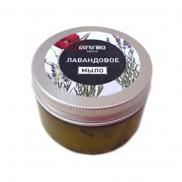 Мягкое мыло-бельди  ЛАВАНДОВОЕ (в баночке), 100 гр.