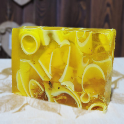 """""""Липа"""" мыло твердое глицериновое ручной работы 100 гр.±5"""