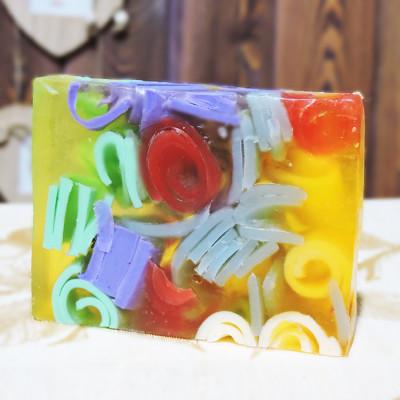 """""""Полевые цветы"""" мыло твердое глицериновое ручной работы 100 гр.±5"""