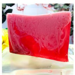 """""""Роза"""" мыло твердое глицериновое ручной работы 100 гр.±5"""