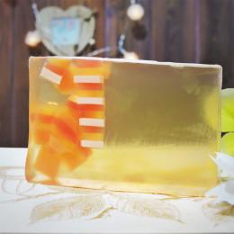 """""""Макадамия"""" мыло твердое глицериновое ручной работы 100 гр.±5"""