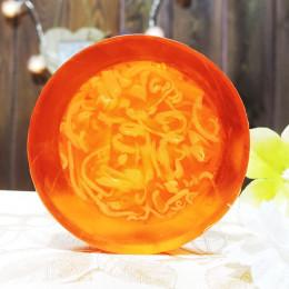 """""""Апельсин тропический"""" мыло твердое глицериновое ручной работы 100 гр.±5"""