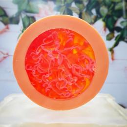 """""""Грейпфрут"""" мыло твердое глицериновое ручной работы 100 гр.±5"""