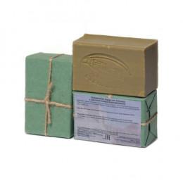 Мыло алеппское оливковое ЛАВРОВОЕ, 1 шт.,~150 ±10 гр.