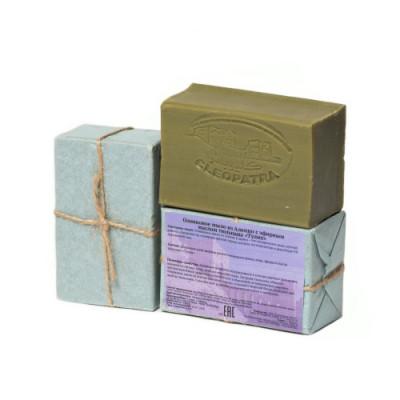 Мыло алеппское оливковое ТЮЛЬПАН, 1 шт.,~150 ±10 гр.