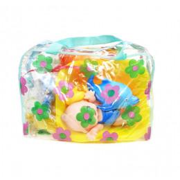 Набор детский для купания №1 - для малышей (игрушки +мыло)