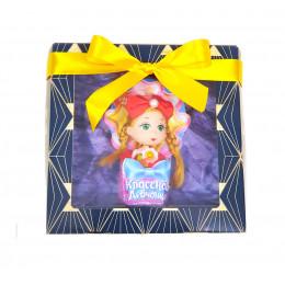 """Набор детский  """"Классной девчонке"""" (кукла пластиковая в картонном вкладыше )"""