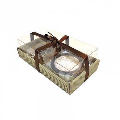 Набор подарочный №19 (мыльное ассорти ручной работы 2 вида)