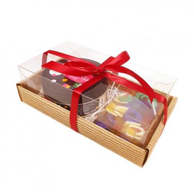 Набор подарочный №22 (кусочек мыла+ крем-масло)