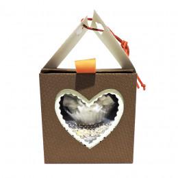 Набор подарочный №38 (подарочный набор  домик - пена для ванной+2 мыла)