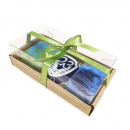 Набор подарочный №42 к 23 февраля (3 кусочка мыла)