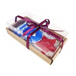 Набор подарочный №43 к 23 февраля (3 кусочка мыла)