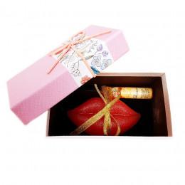 Набор подарочный №144 ко Дню влюбленных (мыло+косметика)