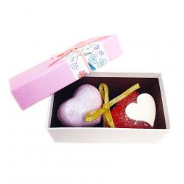 Набор подарочный №146 ко Дню влюбленных (мыло+косметика)
