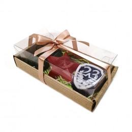 Набор подарочный №46 к 23 февраля (3 кусочка мыла)