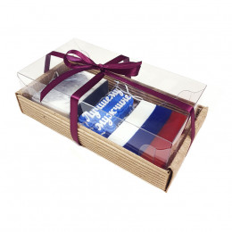 Набор подарочный №48 к 23 февраля (3 кусочка мыла)