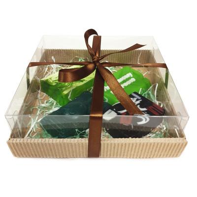 Набор подарочный №63 к 23 февраля (4 кусочка мыла)