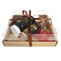 Набор подарочный №64 к 23 февраля (мыло+косметика)