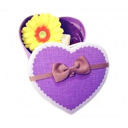 Набор подарочный №141 ко Дню влюбленных (набор - сердечко - мыло+косметика)