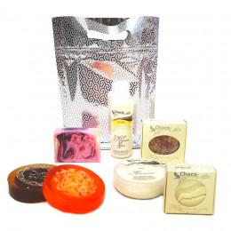 Набор новогодний Блестящий подарок (косметика+мыло)